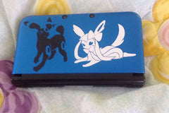 Umbreon and Espeon Eeveelutions 3DS Decals