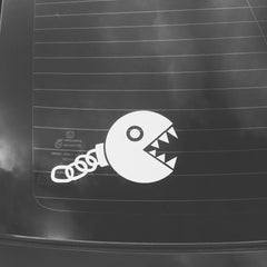 Mario Bros. Chain Chomp Vinyl Sticker Decal