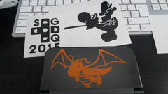 Dragonite 3DS XL & Gaming Vinyl Sticker Decals