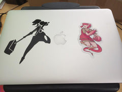 Dustgirl Vinyl Sticker Decal for Damien