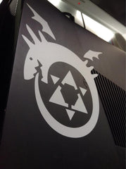 Full Metal Alchemist Ouroborous Vinyl Sticker Decal