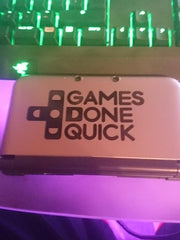 GDQ Vinyl Sticker Decal