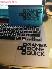 GDQ Vinyl Sticker Decals