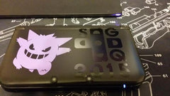 Gengar & SGDQ 2015 3DS XL Vinyl Sticker Decal