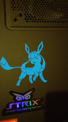 Glaceon 3ds XL Vinyl Sticker Decal