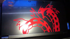 Gyarados 3DS XL Vinyl Sticker Decal