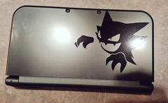 Haunter 3DS XL Vinyl Sticker Decal