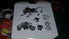 Red XIII, Squirtle Squad, & Gaming Vinyl Sticker Decals