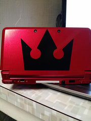 Kingdom Hearts Crown Vinyl Sticker Decal