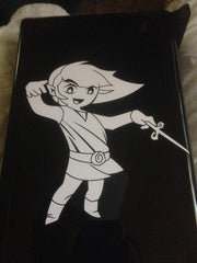 Wind Waker Link Vinyl Sticker Decal