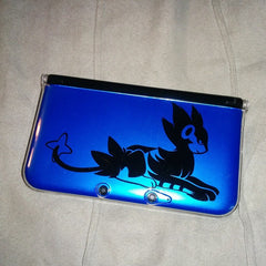 Luxray 3DS XL Vinyl Sticker Decal