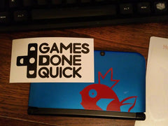 Magikarp 3ds XL Vinyl Sticker Decal