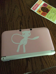 Mew 3DS XL Vinyl Sticker Decal