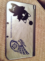 Moogle 3DS XL Vinyl Sticker Decal
