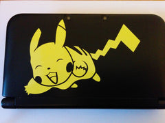 Pikachu 3DS XL Vinyl Sticker Decal