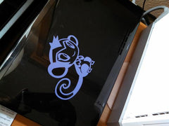 Shantae's Monkey Form Vinyl Sticker Decal