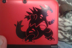 Tyranitar 3DS Vinyl Sticker Decal for João