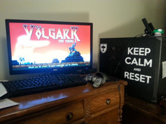 Keep Calm and Reset: Volgarr Vinyl Sticker Decal