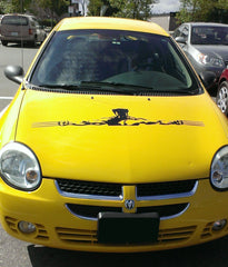 X-Men Wolverine Car Hood Decal for Elizabeth