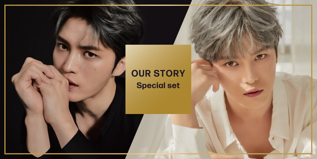 OUR STORY / Special set PRODUCED by JAE JOONG