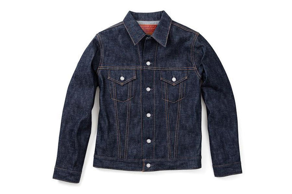 The Real Mccoy's Denim Jacket-Denim Blue (140)-MJ13134