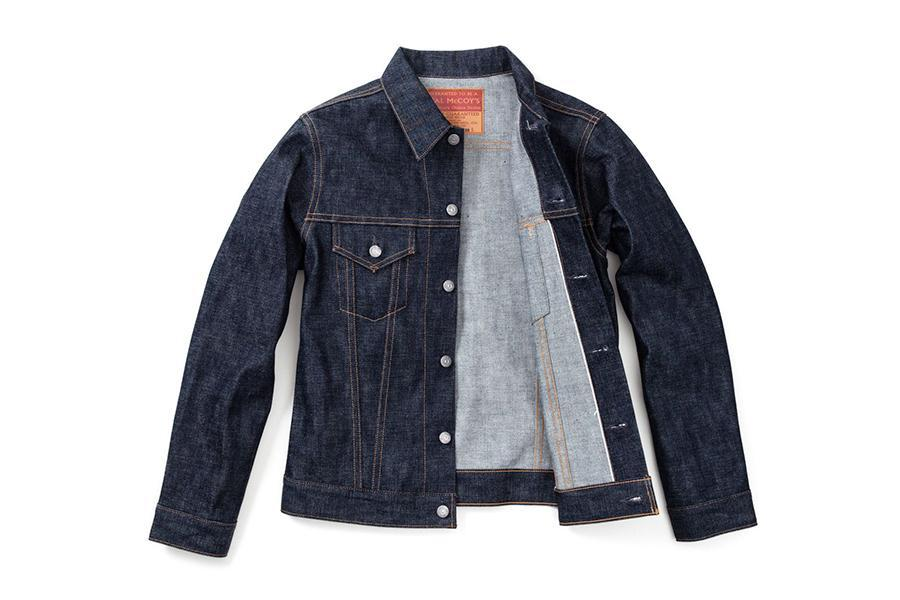The Real McCoy's Denim Jacket Blue