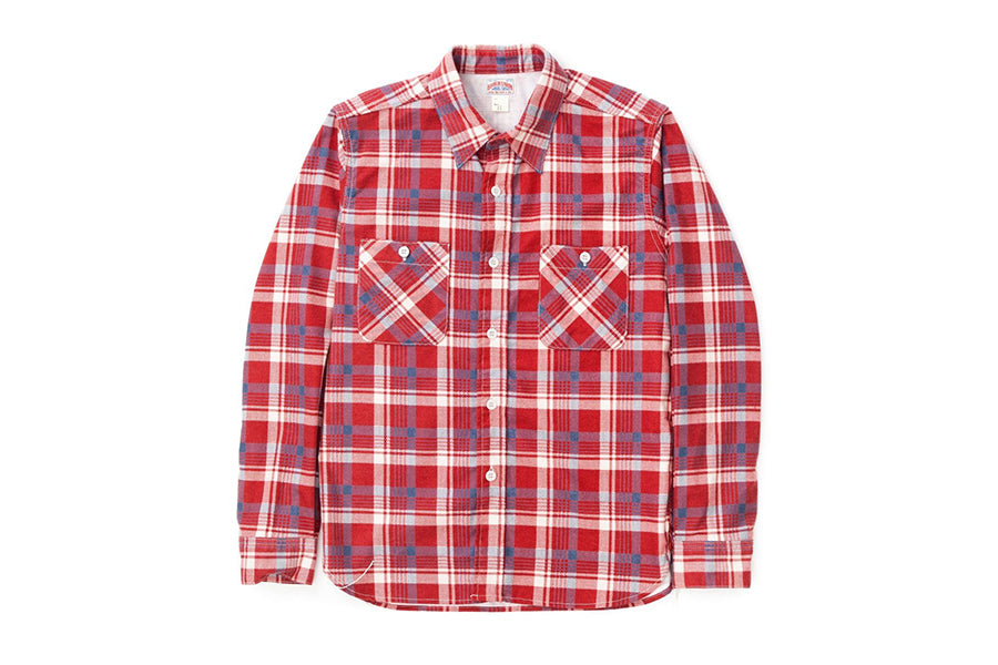 The Real McCoy's 8HU Print Flannel Shirt