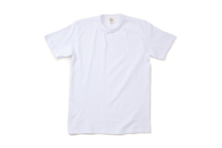 The Real Mccoy's 2pcs pack tee white