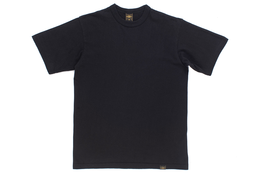Camiseta negra Plain 6.5oz