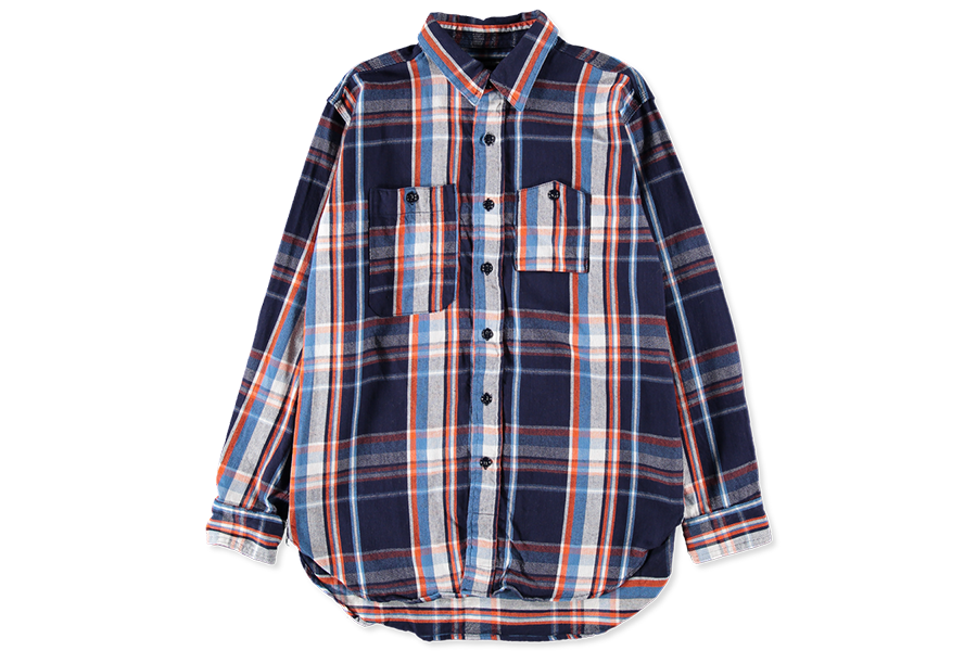 Engineered Garments Work Shirt Naranja