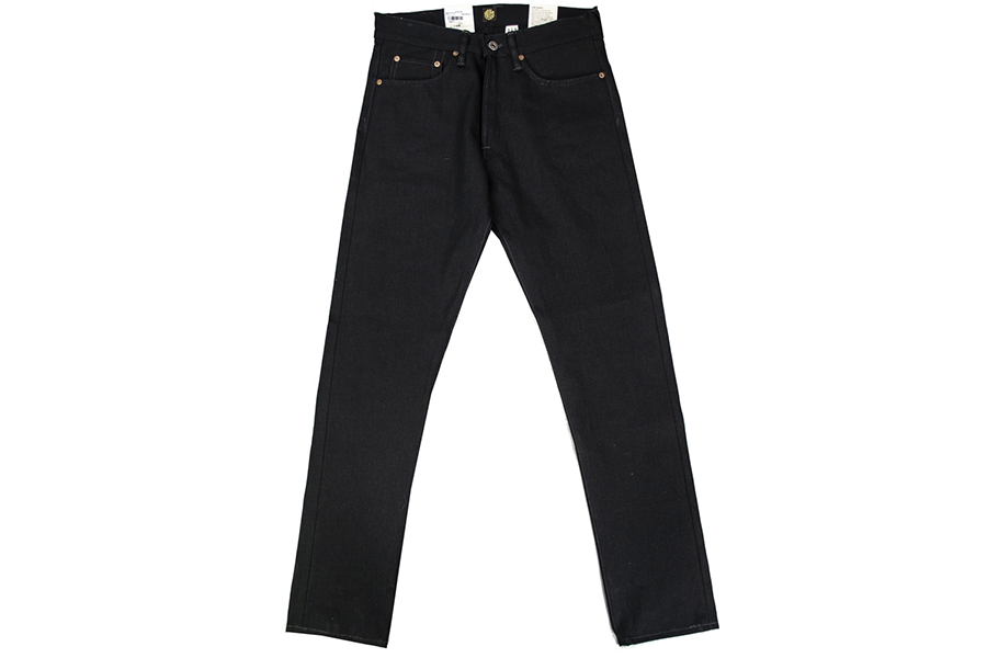 Jeans 14oz Nash Selvage Indigo Black