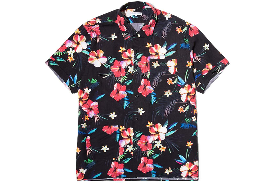 Camp Shirt Tropical Black