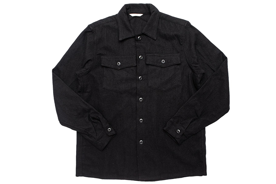 Fatigue Overshirt Negro