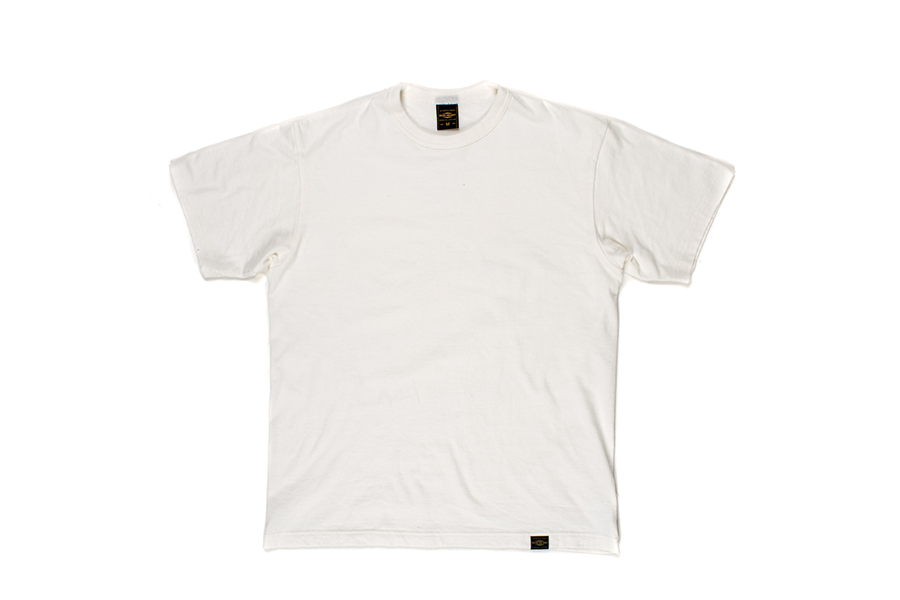 Plain 6.5oz Loopwheel T-Shirts White