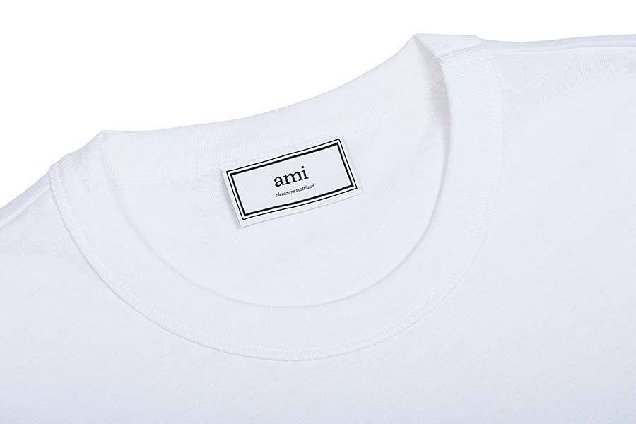 AMI Crewneck  embroidered  T-shirt