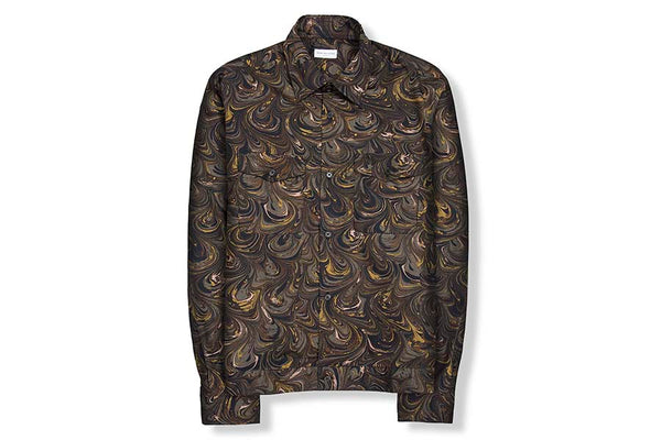 Dries Van Noten Cormac Khaki Shirt