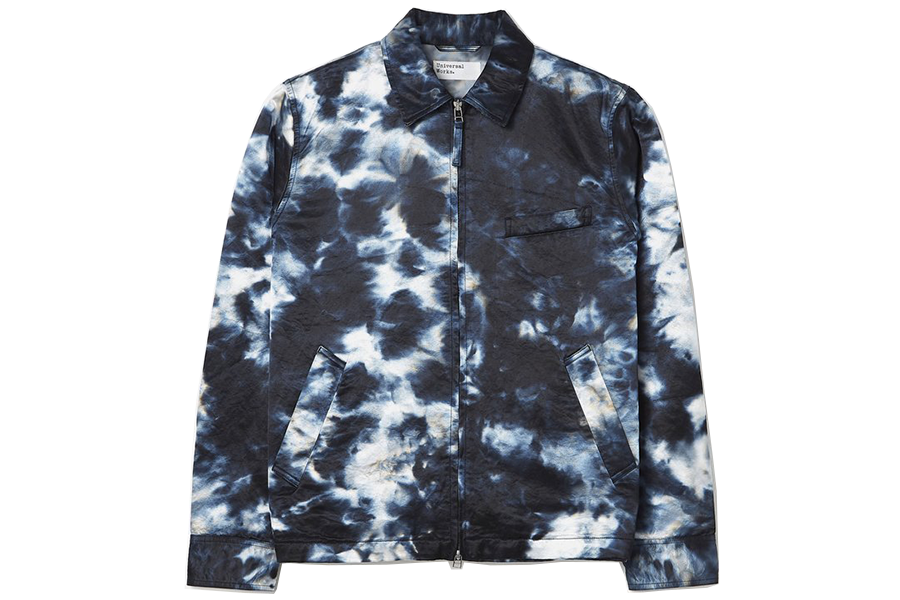 Windcheater Jacket en Indigo Desert Night