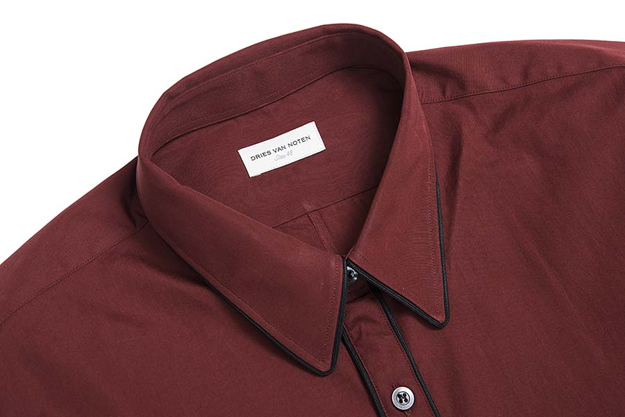 Corbin Burgundy Shirt