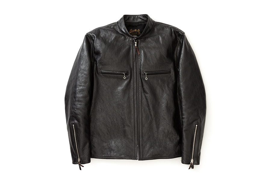 J-100 Horsehide Leather Riders Jacket