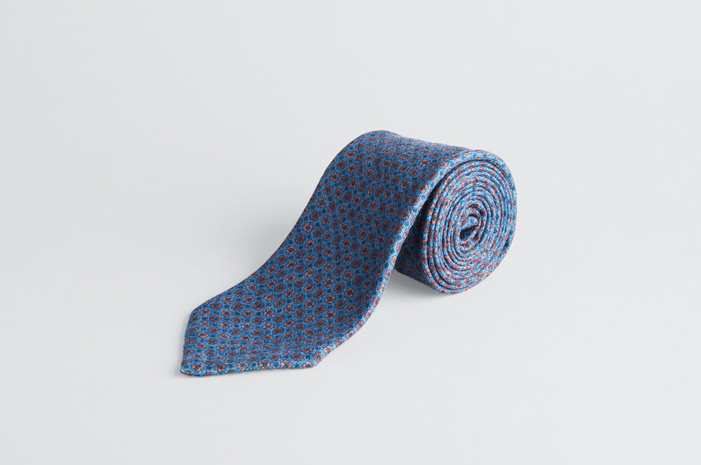 Petronius Knitted Floral Tie