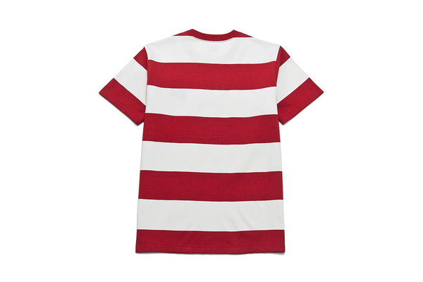 The Real Mccoy's 1950s stripe tee white