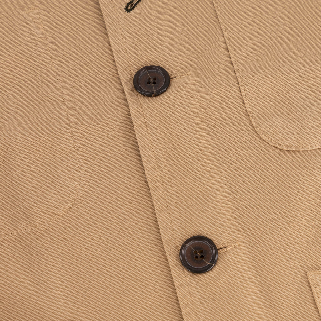 Universal Works Bakers Jacket Canvas Sand