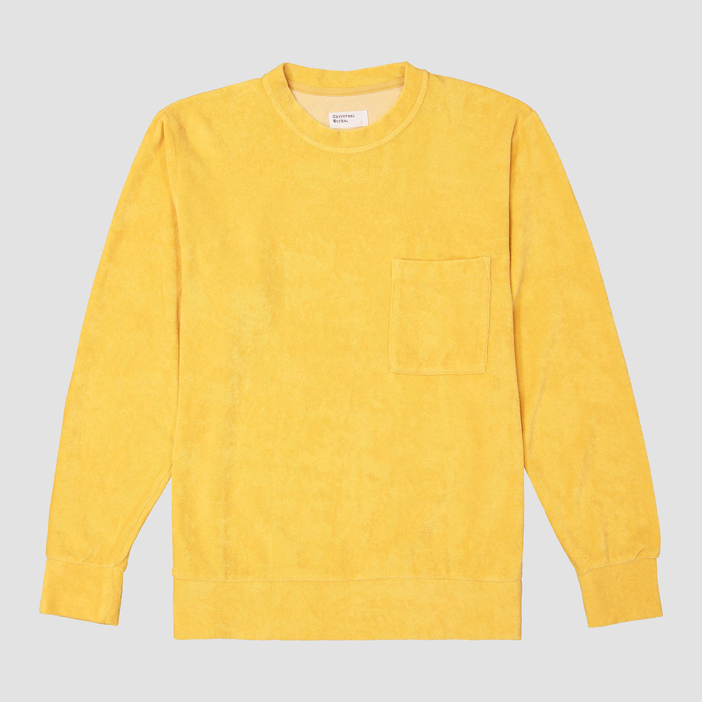 Universal Works Loose Pullover Terry Fleece Gold