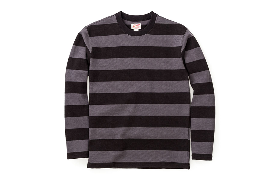 Stripe Racing Jersey Black & Grey