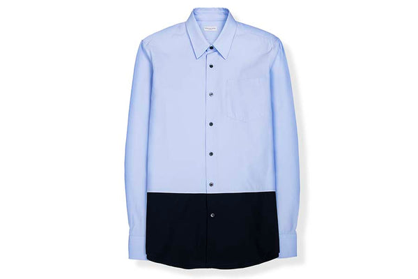 Dries Van Noten Coenie Sky Shirt