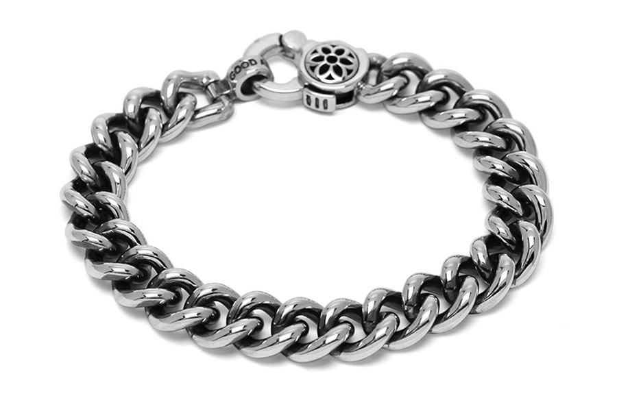 Good Art Curb Chain #6 Bracelet - Sterling