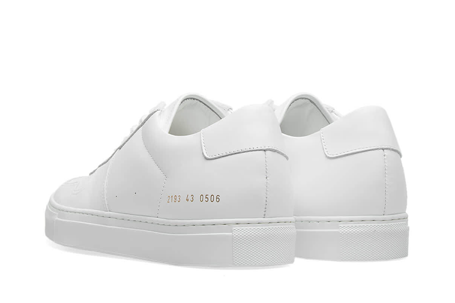 Bball Low White Sole White for Woman