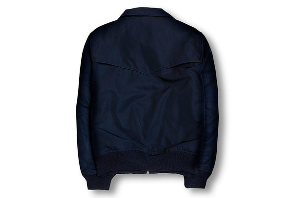 Our Legacy Tech Half Harrington Jacket-Navy 1182NTHHJNDN