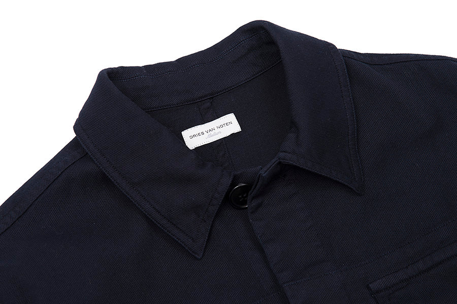 Navy Chillida Safari Shirt