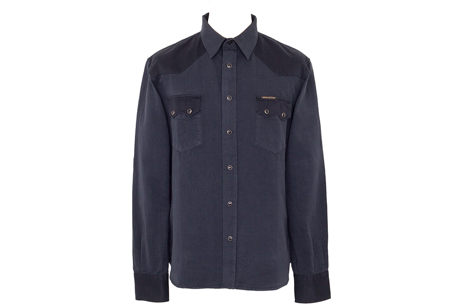 Camisa Western Dollard Two-Tone Black